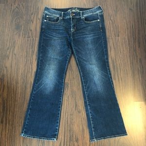 American Eagle jeans slim boot stretch sz 12 short